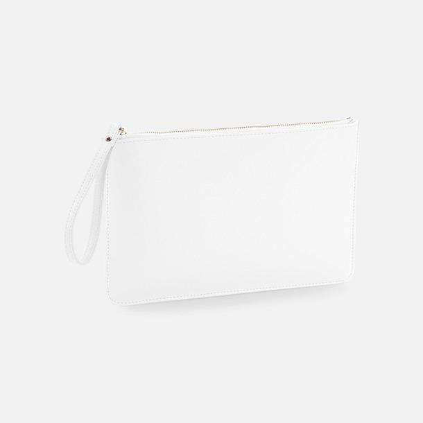 Soft White Fuskläder etuier med reklamtryck