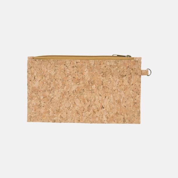 Plånboksfodral i kork med reklamtryck