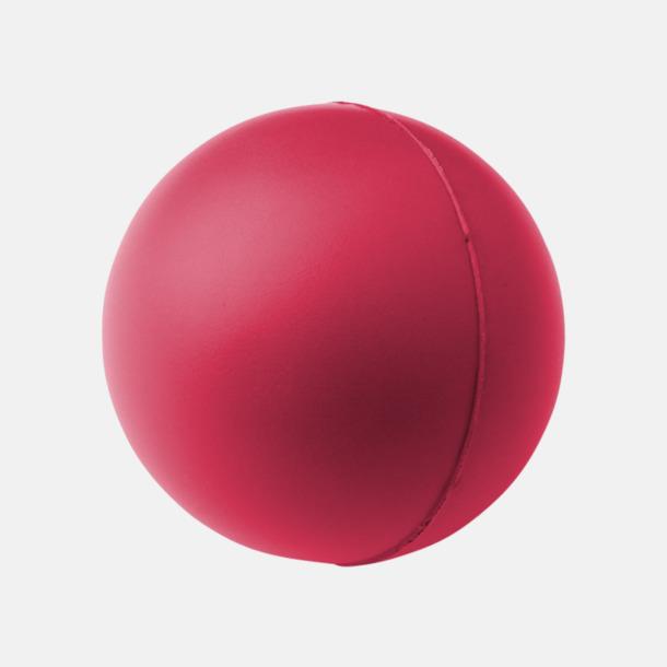 Rosa Trycka stressbollar - Stressbollar med tryck