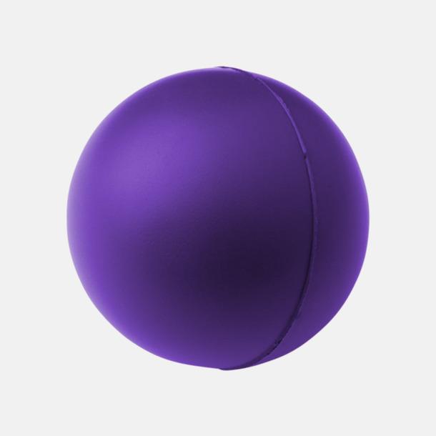 Lila Trycka stressbollar - Stressbollar med tryck