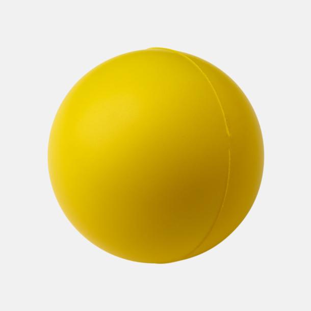 Gul Trycka stressbollar - Stressbollar med tryck