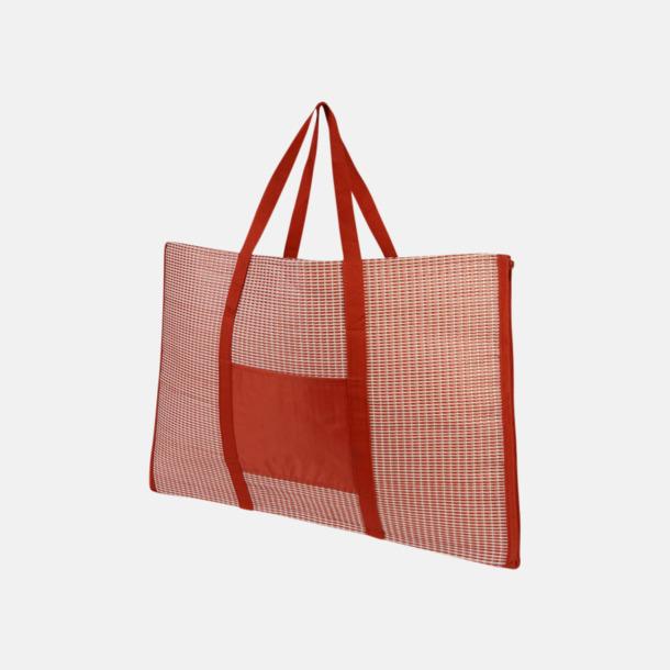 Kasse och stradmatta med kudde - med reklamtryck