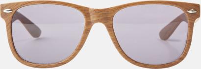 Plastsolglasögon med träliknande finish - med reklamtryck