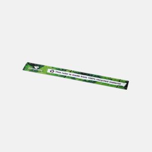 Linjaler i återvunnen plast med reklamtryck