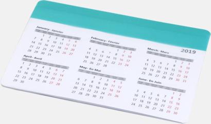 Mint Bra musmattor med kalender - med reklamtryck