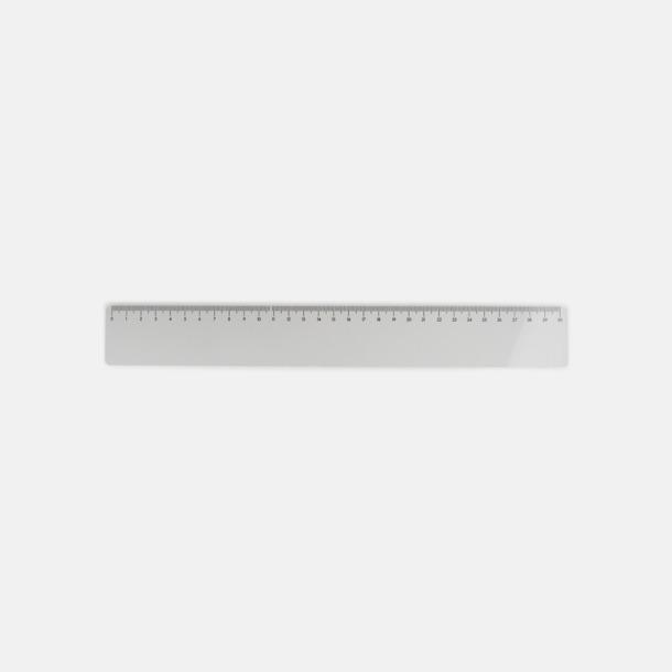 30 cm smal Skallinjaler i flera storlekar med reklamtryck