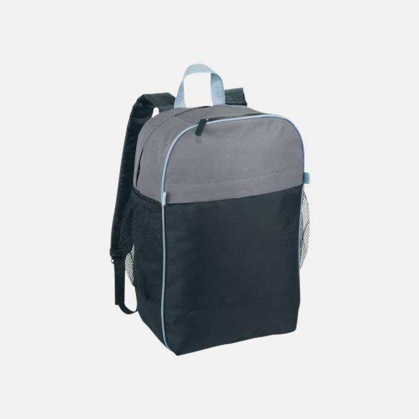 Svart / Grå Prisvärda laptopryggsäckar med reklamtryck