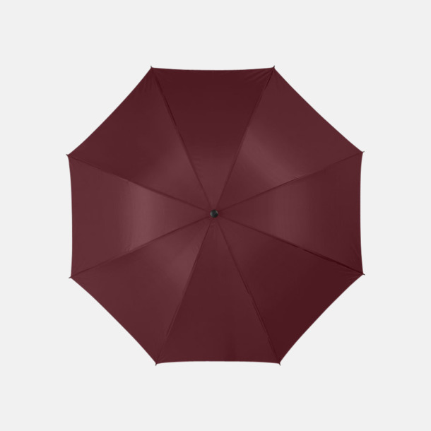 "Brun 30""-stormparaplyer med reklamtryck"