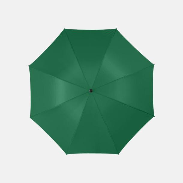 "Fern Green 30""-stormparaplyer med reklamtryck"