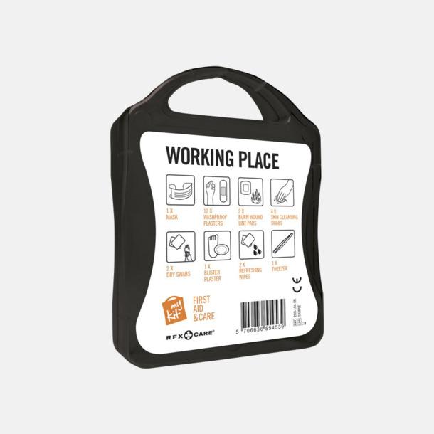 Första hjälpen kit for arbetsplatser - med reklamtryck