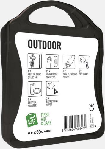 Första hjälpen-kit för vildmarken - med reklamtryck