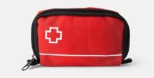 Smidig First aid kit med reklamtryck