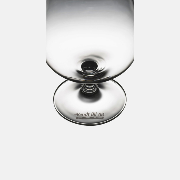 1-färgstryck fot Ölglas med reklamtryck