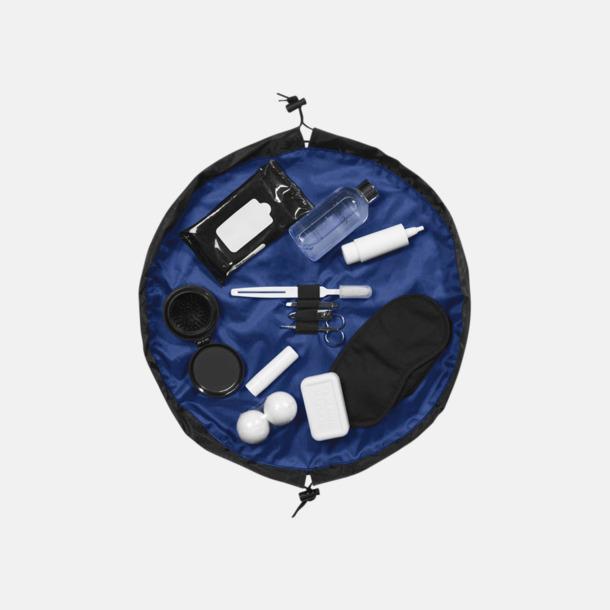 Blå Kompakta necessärer med reklamtryck
