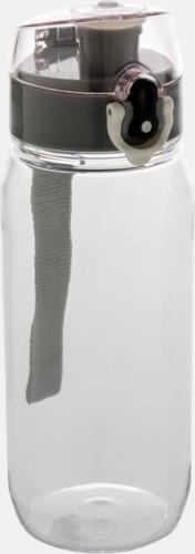 Transparent BPA-fria sportflaskor med reklamtryck