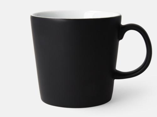 Svart / Vit Fina kaffemuggar med reklamtryck