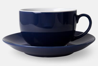 Marinblå Porslinsmuggar med eget tryck