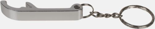 Silver Kapsylöppnare för nyckelringen