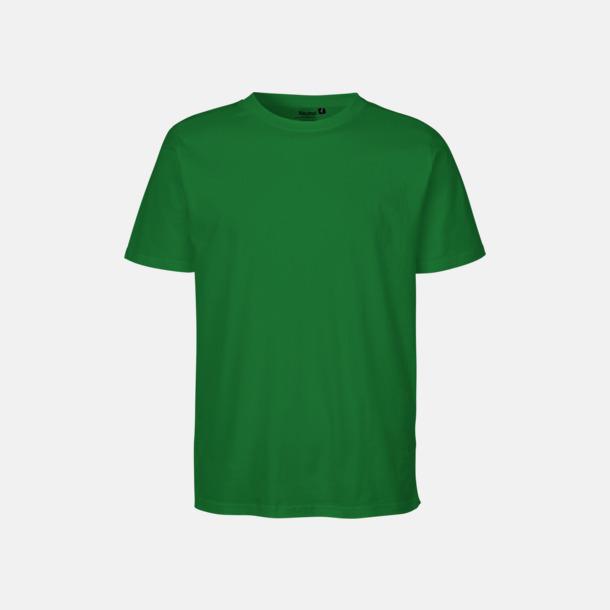Grön Ekologiska fairtrade t-shirts med tryck