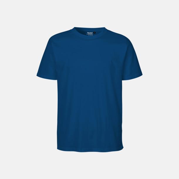 Royal Ekologiska fairtrade t-shirts med tryck