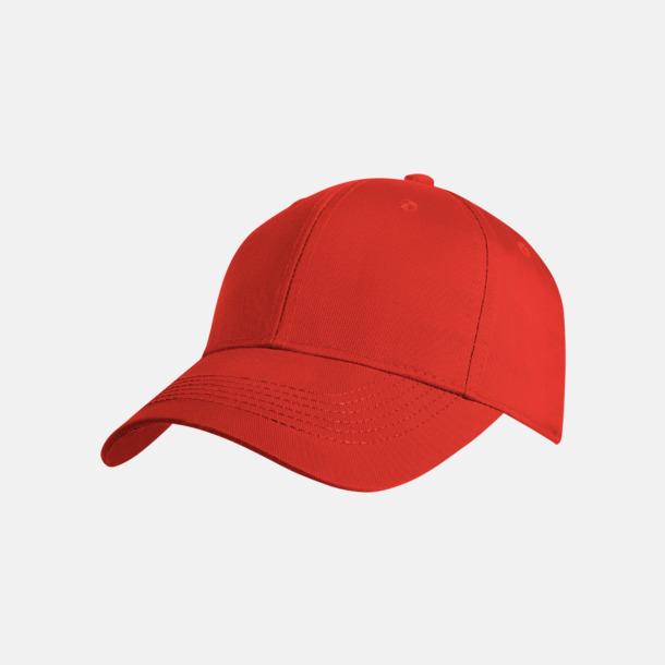 Röd Exklusiva kepsar med reklamlogo