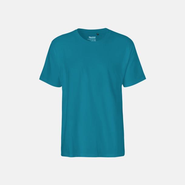 Sapphire (herr) Klassiska t-shirts i ekologisk fairtrade-bomull med tryck