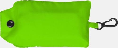 Limegrön Trendig, vikbar väska med belt-clip