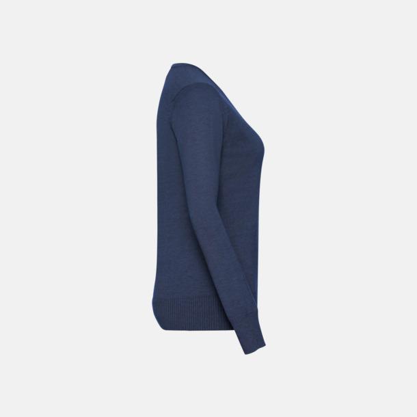 Pullovers i herr- och dammodell med reklamlogo
