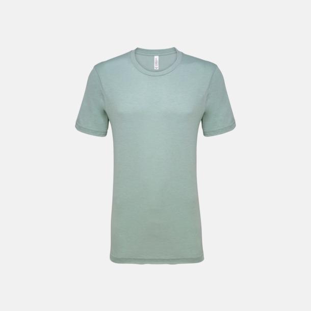 Heather Prism Dusty Blue T-shirts för herr och dam - med reklamtryck