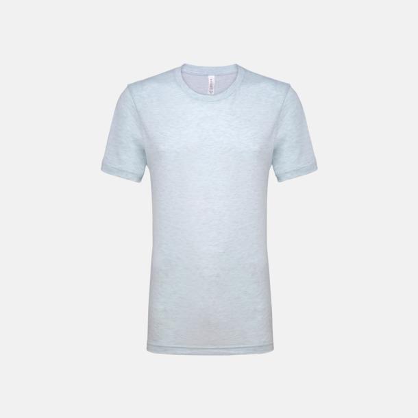 Heather Prism Ice Blue T-shirts för herr och dam - med reklamtryck