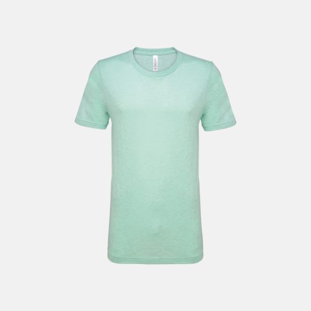 Heather Prism Mint T-shirts för herr och dam - med reklamtryck