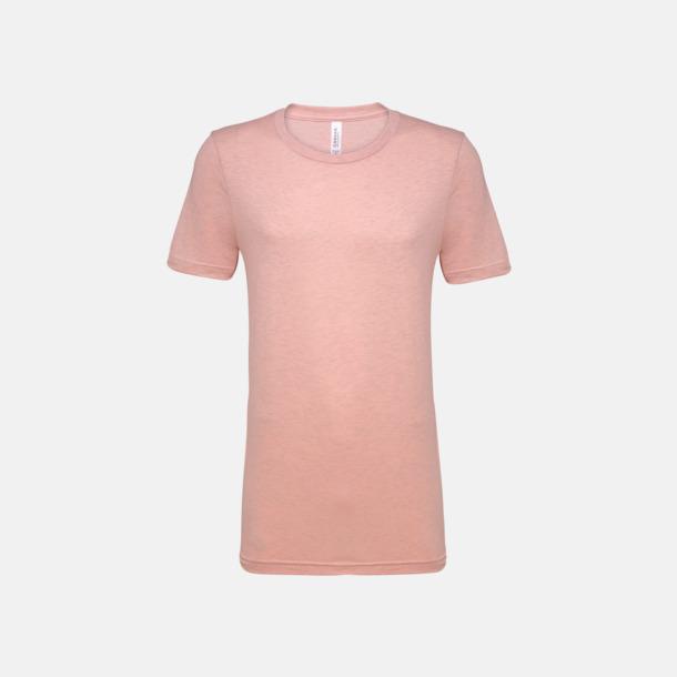 Heather Prism Peach T-shirts för herr och dam - med reklamtryck