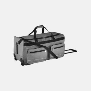 Resväska med hjul och teleskophandtag - med tryck