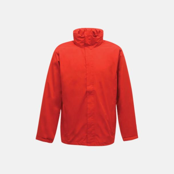 Classic Red Vind- & regnjacka i herrmodell med reklamtryck