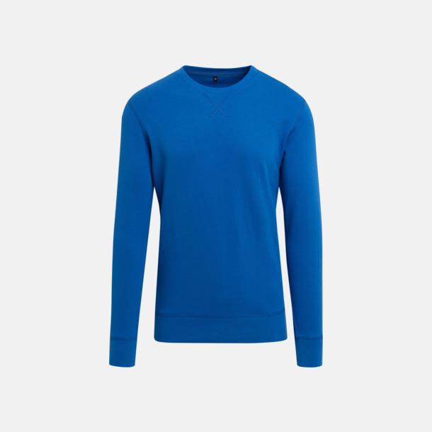 Cobalt Blue (herr) Kvalitetströjor i herr- och dammodell med reklamtryck