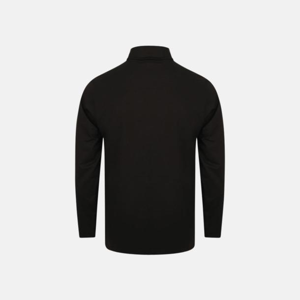 Långärmade t-shirts i herrmodell med reklamtryck