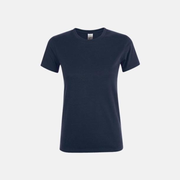 French Navy Billiga dam t-shirts i många färger med reklamtryck
