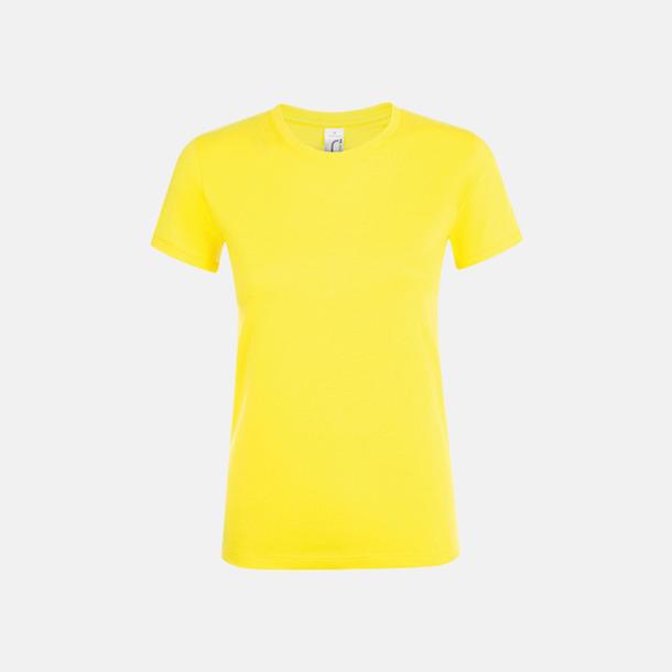 Lemon Billiga dam t-shirts i många färger med reklamtryck