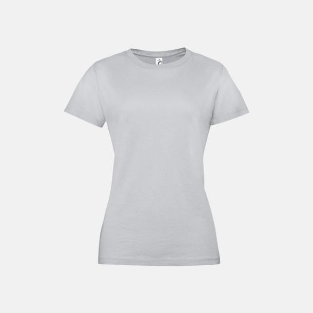 Pure Grey Billiga dam t-shirts i många färger med reklamtryck