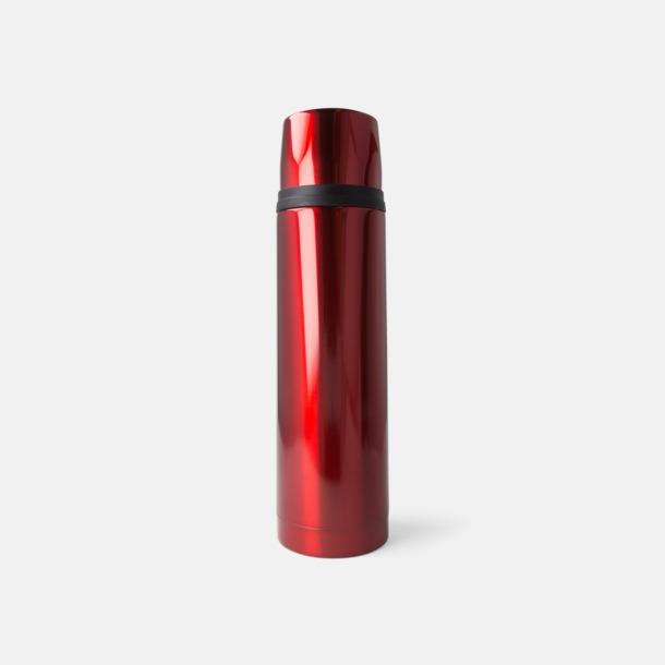 Röd 50 cl termosflaskor med reklamtryck