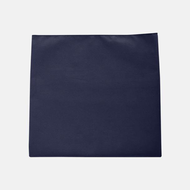 French Navy Sportiga microfiberhanddukar i 3 handdukar med reklambrodyr