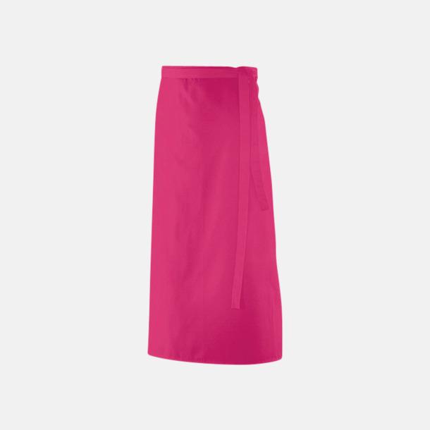 Hot Pink (90 x 60 cm) Förkläden i 5 varianter med reklamtryck