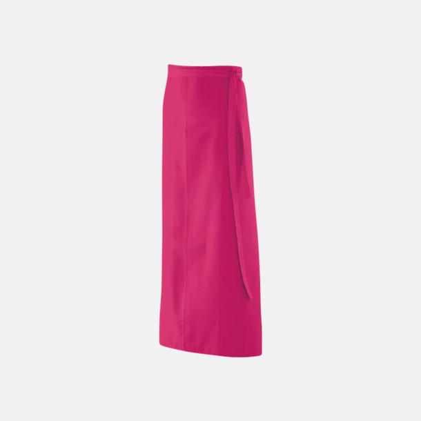 Hot Pink (100 x 100 cm) Förkläden i 5 varianter med reklamtryck