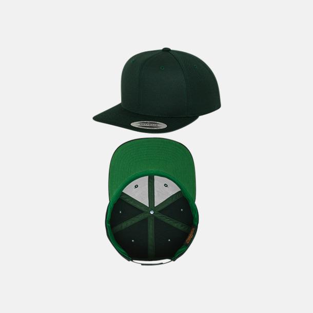Spruce/Grön Snapback kepsar med flexfit - med reklamtryck