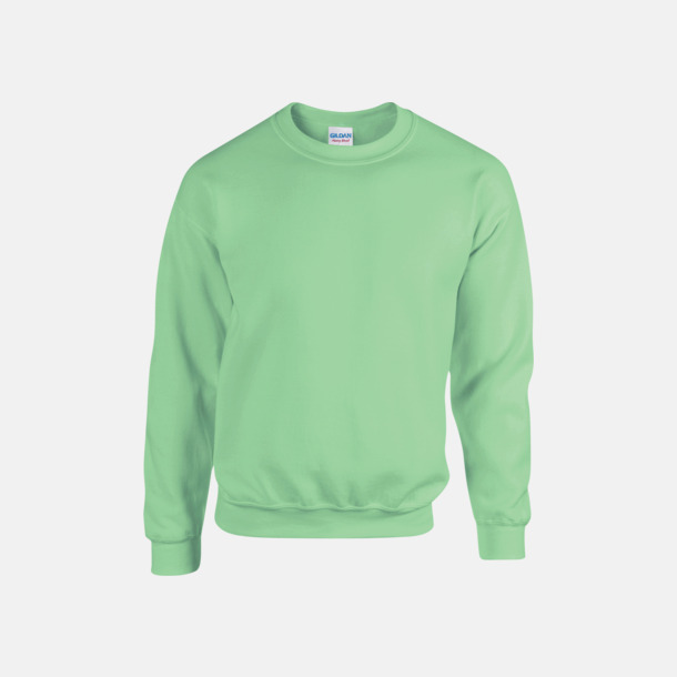 Mint Green (herr) Tröjor i många färger från Gildan med reklamtryck