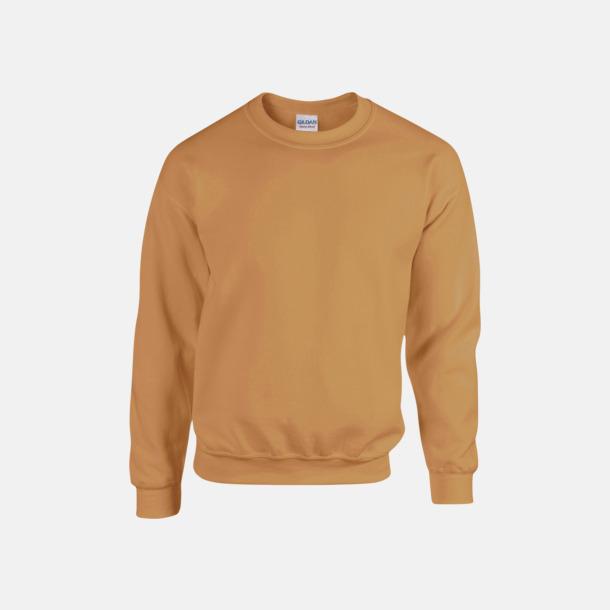 Old Gold (herr) Tröjor i många färger från Gildan med reklamtryck