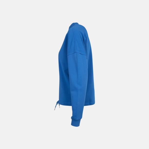 Oversize damtröjor med reklamtryck