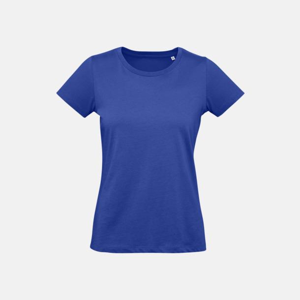Cobalt Blue (dam) Neutrala eko t-shirts i lite tjockare kvalitet med reklamtryck