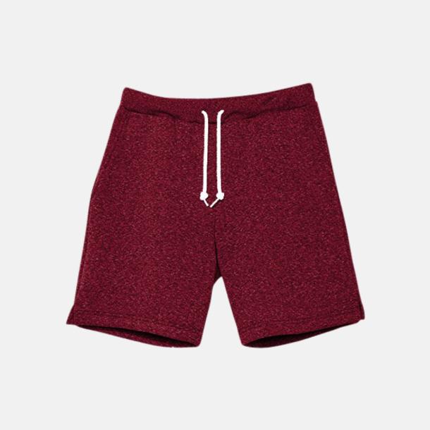 Peppered Cranberry Salt & Pepper gym shorts med reklamtryck