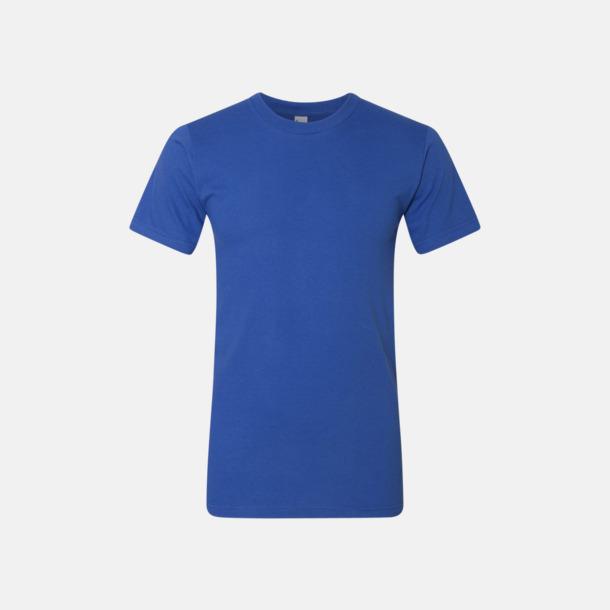 Royal Blue (unisex) Unisex & dam t-shirts med reklamtryck